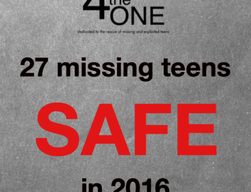 27 Missing Teens SAFE in 2016