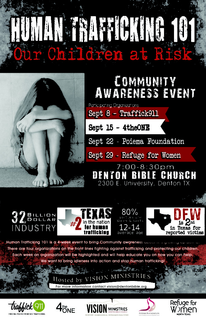 Human Trafficking - Domestic Minor Sex Trafficking - Denton County TX